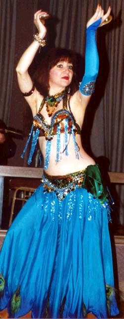 Jeanie, Belly Dancer, winner of Divine Category, 1999 BDUC