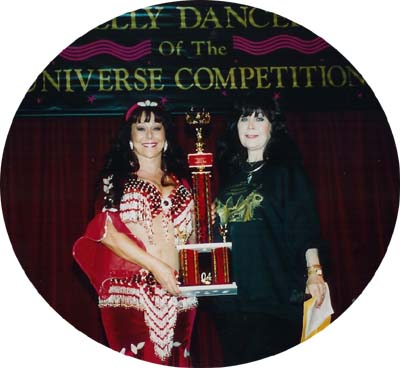 Avianna, winner of the Halame Congeniality Award