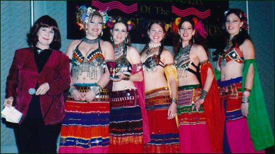 Black Sheet Bellydance, Tribal Group 1st Runner Up