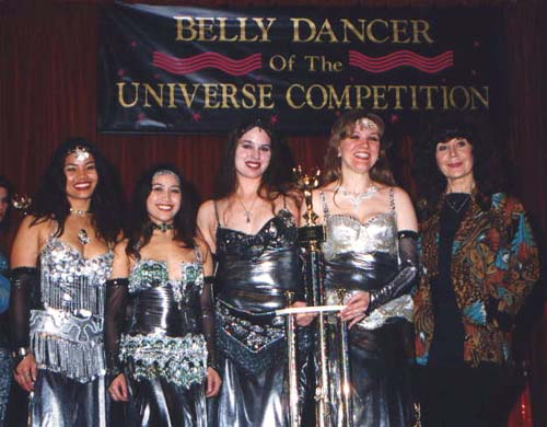 Group Winners of Belly Dancer of the Universe Competition