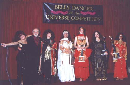 Winners of Universal Category, with Harry Saroyan and Tonya and Atlantis