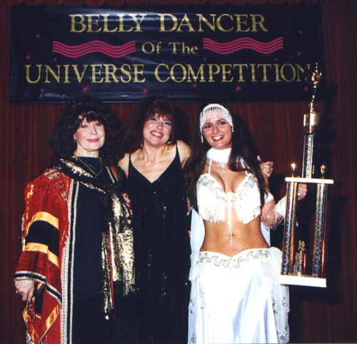 Tonya and Atlantis with Rana, Winner Universal Category
