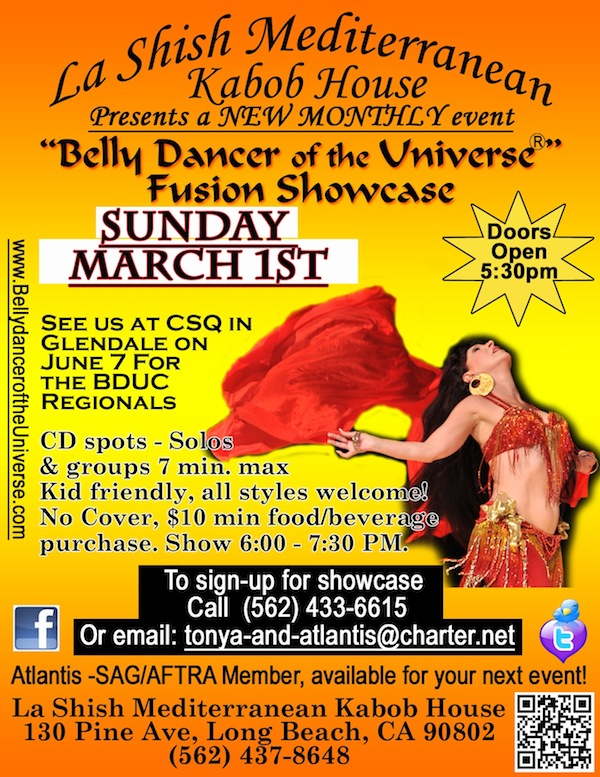 Bellydance Showcase March 2015