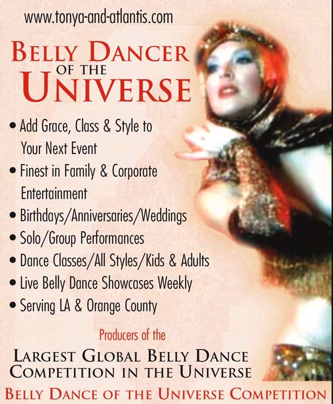Hire a Belly Dancer for your Next Event.