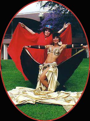 Tonya and Atlantis, Mother Daughter Duo Bellydancers